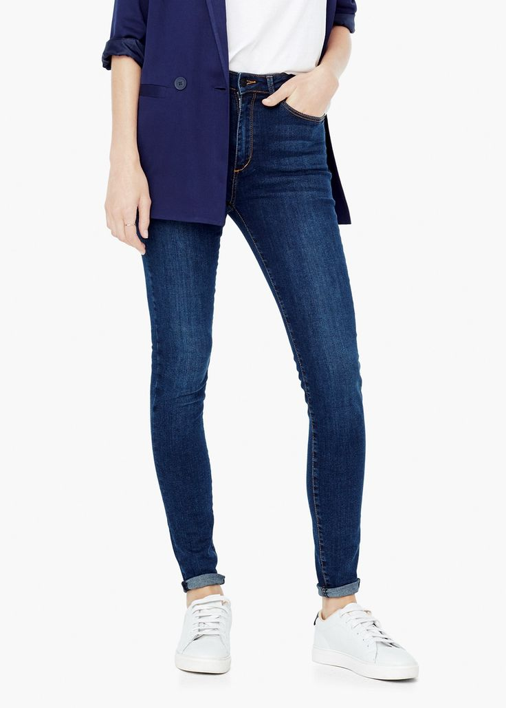 Dżinsy high waist #highwaisted #jeans #women's #fashion #denim #musthave