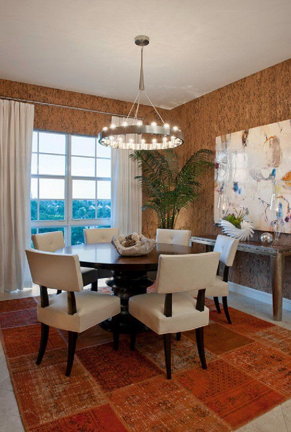 Best 25 contemporary dining rooms ideas on pinterest for Dining table design examples