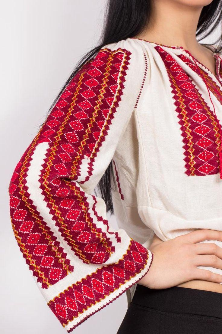 Cute Romanian traditional shirt