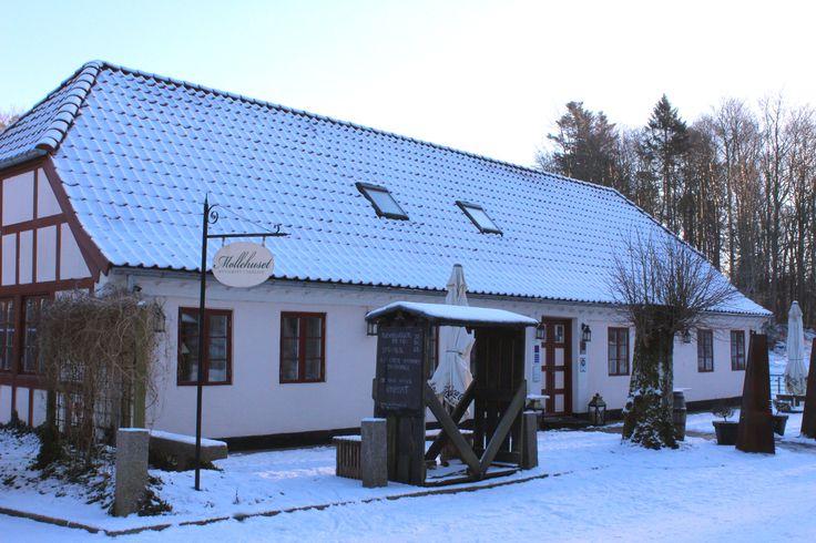 Restaurant Møllehuset, Nordjylland. Vinter 2016