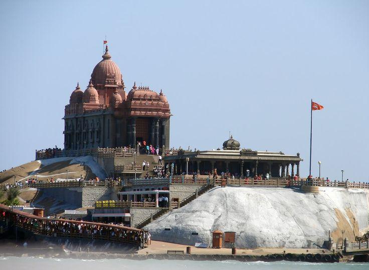 Vivekananda Rock Memorial and Thiruvalluvar Statue, Kanyakumari, Tamil Nadu