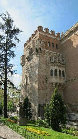 Archbishop Palace in Alcala de Henares - Madrid, Spain