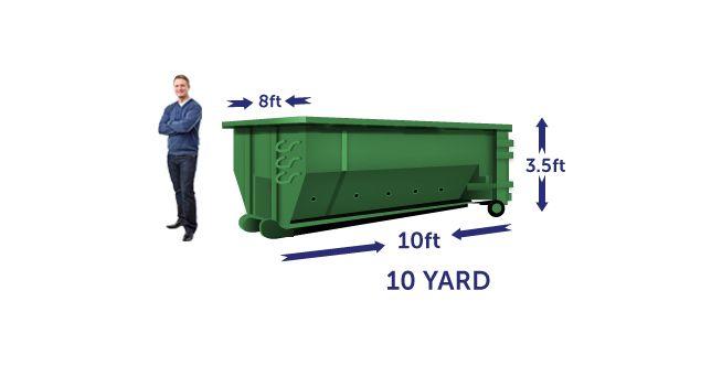 10 yard budget dumpster
