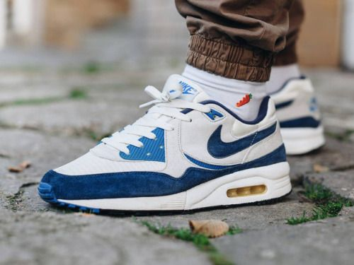 Nike Air Max Light Vintage - White/Navy - 2011 (byKamil...