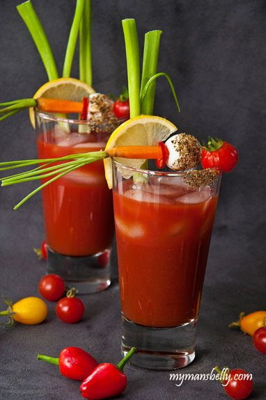 17 best images about epic bloody mary bar on pinterest - Cocktail bloody mary ...