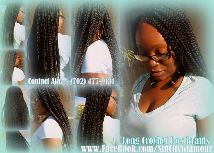Crochet Box Braids Las Vegas Individual Braids Singles Micros Plaits ...