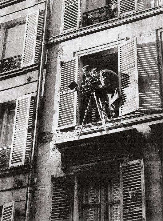 Truffaut on the set of his short film Antoine et Colette. Antoine & Colette (French: Antoine et Colette) is the second film — a short — in François Truffaut's series about Antoine Doinel, the character he follows from boyhood to adulthood through five films. The film was made for the 1962 anthology collection, Love at Twenty, which featured shorts from the renowned directors Shintarô Ishihara, Marcel Ophüls, Renzo Rossellini and Andrzej Wajda, as well as Truffaut.