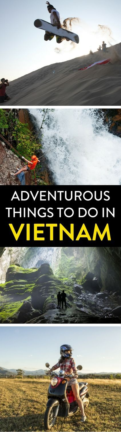 Vietnam Travel | Heading to Vietnam? Here are a few of its top adventures from sand sledding, caving, to riding a motorbike across the country