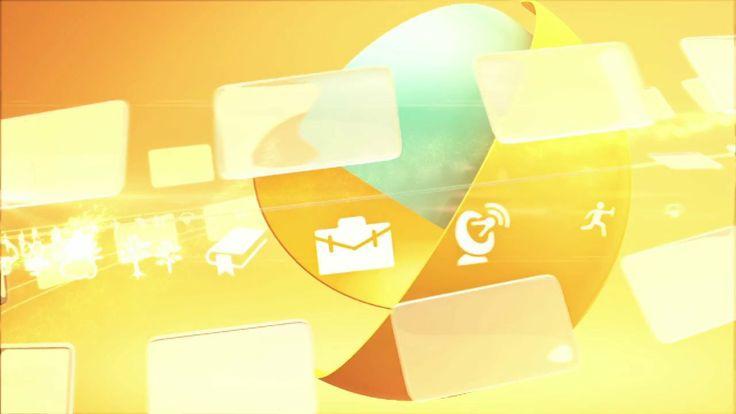 Jeem TV - News titles and program me design | Richard Dufty