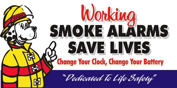 Help us help you -- check smoke alarms when changing clocks for daylight savings time   Public Service – Mankato Times  MANKATO, MINN. --- Help us help you stay safe. When changing clocks for daylight savings on Saturday night (November 5), it's a good time to test smoke alarms and change batteries. Although some newer…