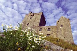 Someday I want to visit these haunted castles in Ireland...