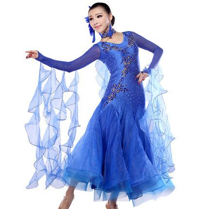 US $68.40 / piece 2015 New Arrival Women Ballroom Dance Dress Lady Clothing For Tangowaltz/Ballroom Dancing Dresses Competition Modern Dance Skirt