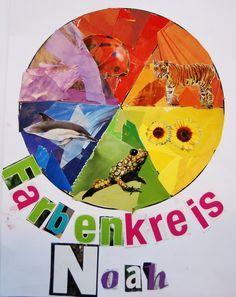 Kunstunterricht in der Grundschule, Kunstbeispiele für die 4. Klasse, Schuljahr 2012 bis 2013 - 136s Webseite!