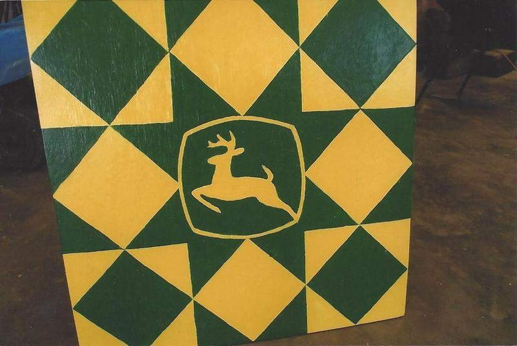 john deere barn quilt: Girl Barn Quilts, John Deere Quilt, Deere Quilts, Quilt Barns, Barnwood Quilts, John Deere Barn Quilt, Barn Quilting, Barns Quilts, Quilts Barn