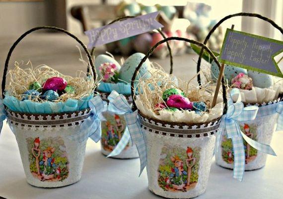 A létező legegyszerűbb húsvéti dekoráció: hímes tojások kosárban | femina.hu