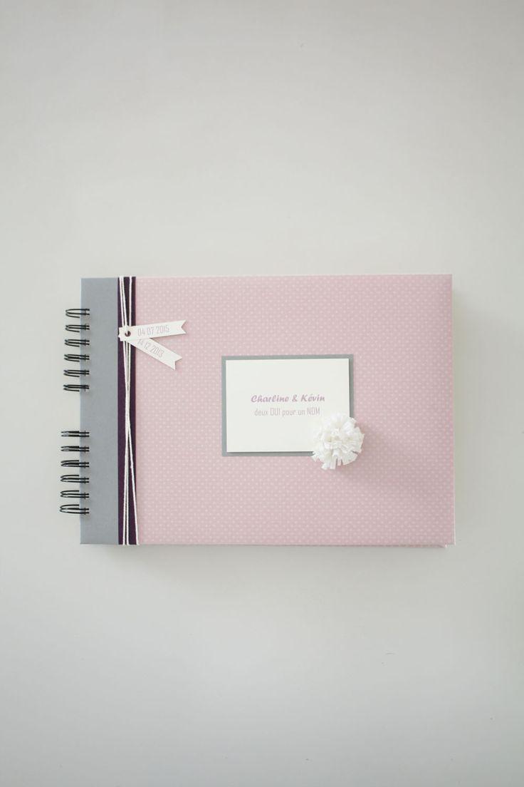 Livre d'or mariage personnalisé #livredormariage #guestbook