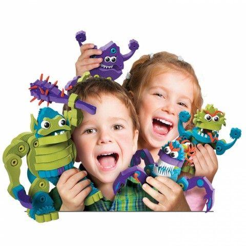 Med Bloco kan du bygga roliga monster och drakar-eller helt egna fantasifulla skapelser!