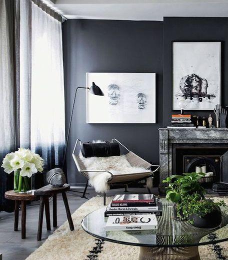 25 beste idee n over woonkamerstijlen op pinterest woonkamerdesign schone woonkamers en - Sofa zitplaatsen zwarte ...