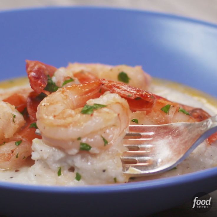 Get cozy with Lemon Garlic Shrimp and Grits, one of our most-popular recipes!