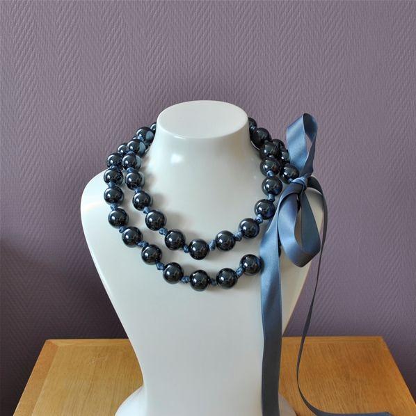 1000 id es sur le th me colliers de grosses perles sur for Simone sausse le miroir bris