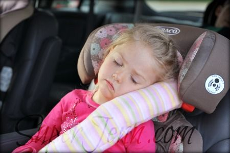 Seatbelt pillows