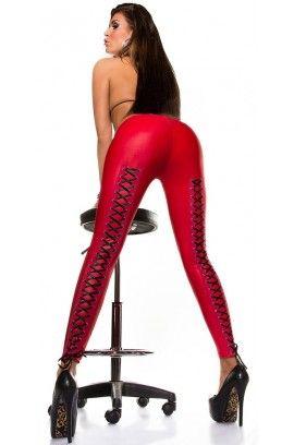 Sexy leggings Slp-18256-Red