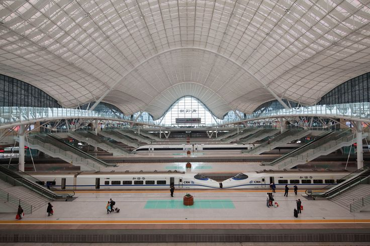 Wuhan Railway Station - Wuhan, China -  AREP / MaP3