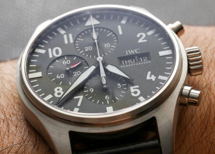 IWC Pilot's Watch Chronograph Watch Review Wrist Time Reviews