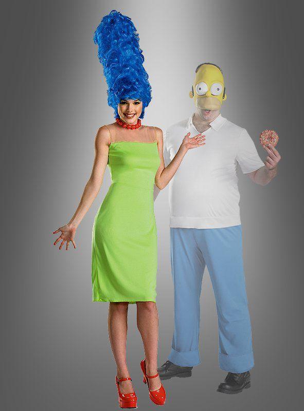 Marge Simpsons Kostüm und Perücke jetzt kaufen