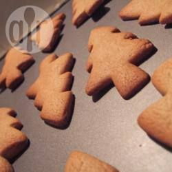 Christmas Tree Gingerbread- add 1/2 tsp cinnamon and 1 tsp mixed spice and 1/2 tsp ginger