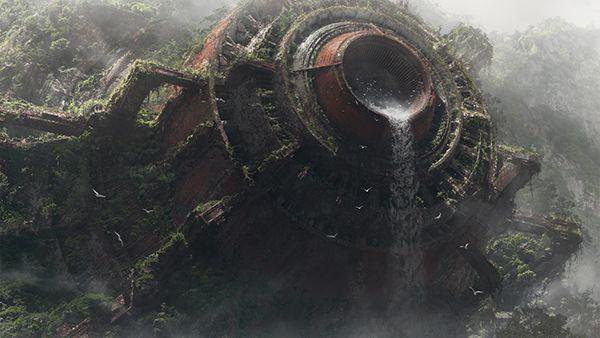 Ruins of metal 3 on Behance