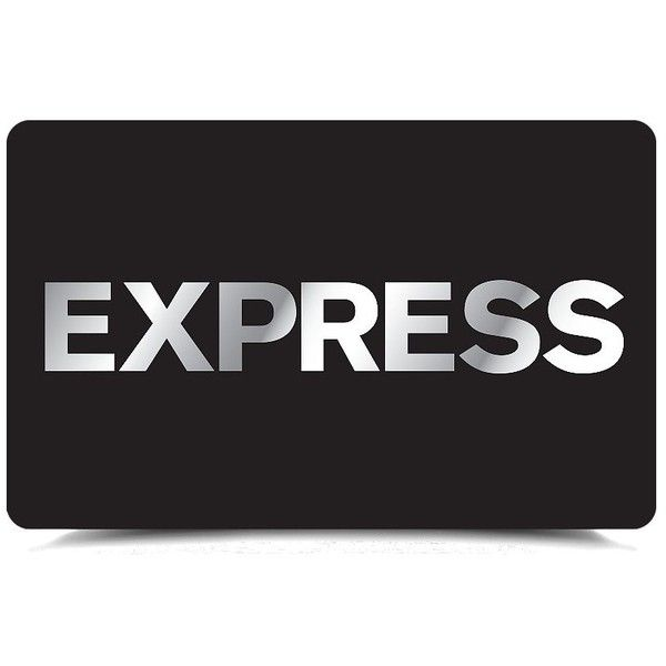 Express Electronic Gift Card ($100) ❤ liked on Polyvore featuring gift cards