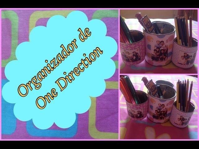 DIY Organizador de One Direction