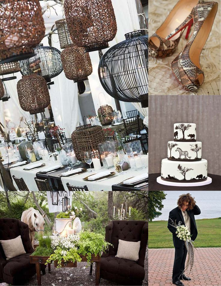 7 Best Images About Rustic Safari Wedding On Pinterest