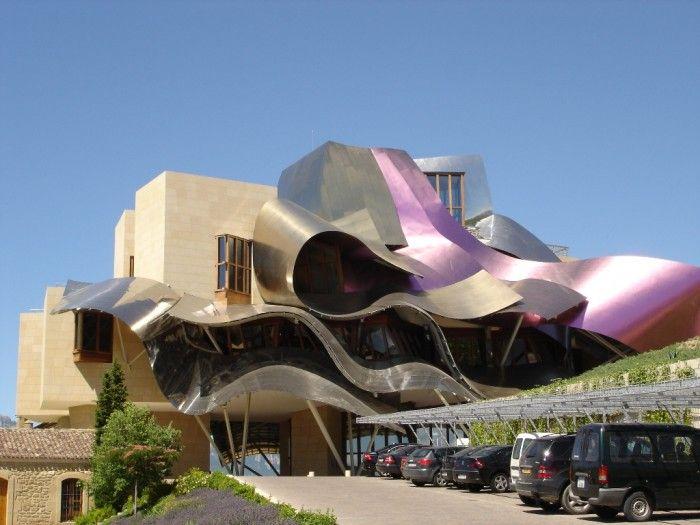 Top 30 World's Weirdest Hotels … Never Seen Before! ... hotel-marques-de-riscal_33620 └▶ └▶ http://www.pouted.com/?p=30907