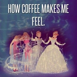 Happy Monday! coffeelover caseofthemondays disney cinderella