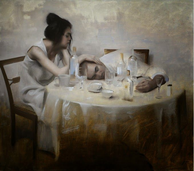 Nick Alm ~ Figurative painter