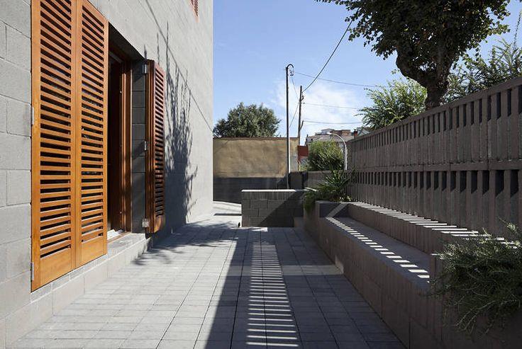 House 804 / H Arquitectes: En Barcelona, Doors Inspira, Architecture, 804 En, Casa 804, Door Spaces