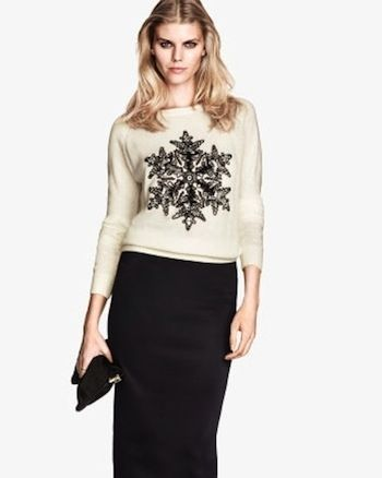 Knit sweater, $19.95 | 21 Cute Ways To Channel Christmas Without Being Tacky