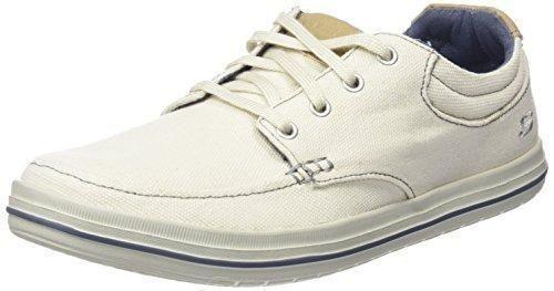 Oferta: 64.95€ Dto: -40%. Comprar Ofertas de Skechers Define Soden - Zapato con cordones, Hombre, Beige (Ofwt), 41 barato. ¡Mira las ofertas!