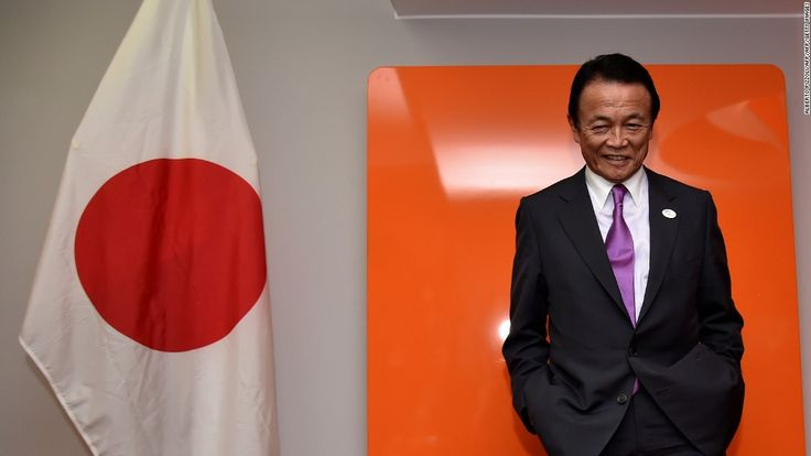 Japan's deputy PM apologizes for Nazi comments