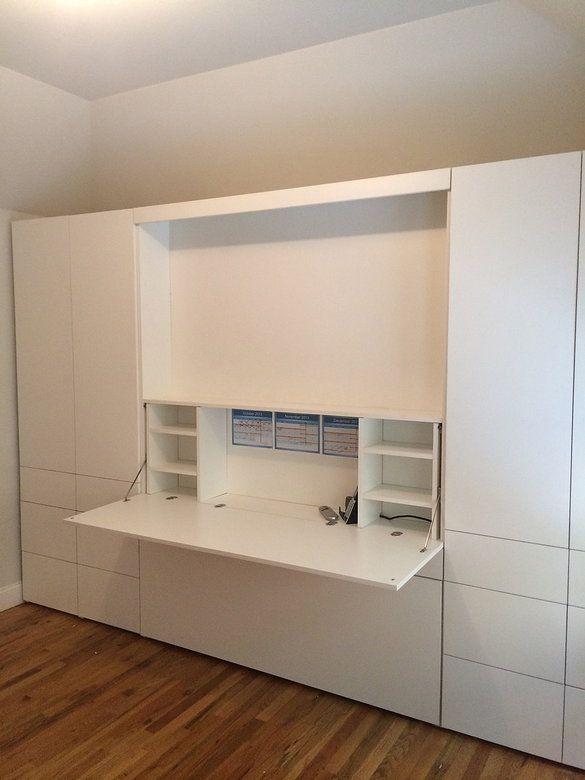 hidden bed furniture. ZoomRoom Murphy Bed Desk Hidden Furniture
