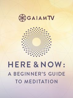 We've all heard about the benefits of meditation a million times—reduced stress, improved focus, a deeper spiritual connection, and so on—yet there's something about sitting still that can be rather daunting, especially at first. But it doesn't have to be! #MeditationChallenge #GaiamTV #MyYogaOnline