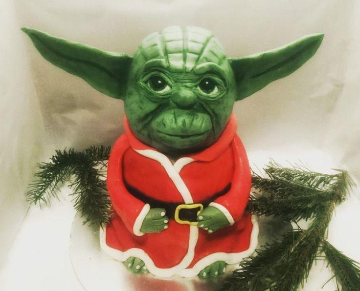 Yoda Christmas Cake