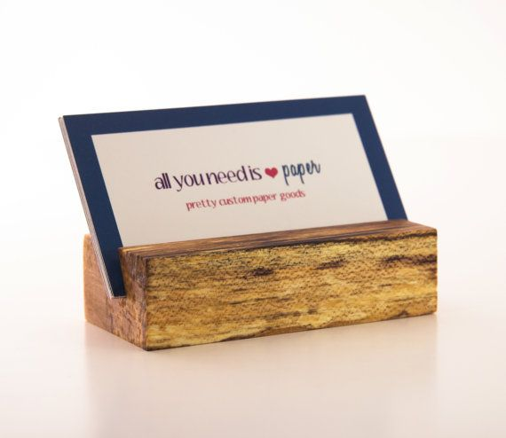 Hey, I found this really awesome Etsy listing at https://www.etsy.com/listing/117641093/wooden-business-card-holder-maple