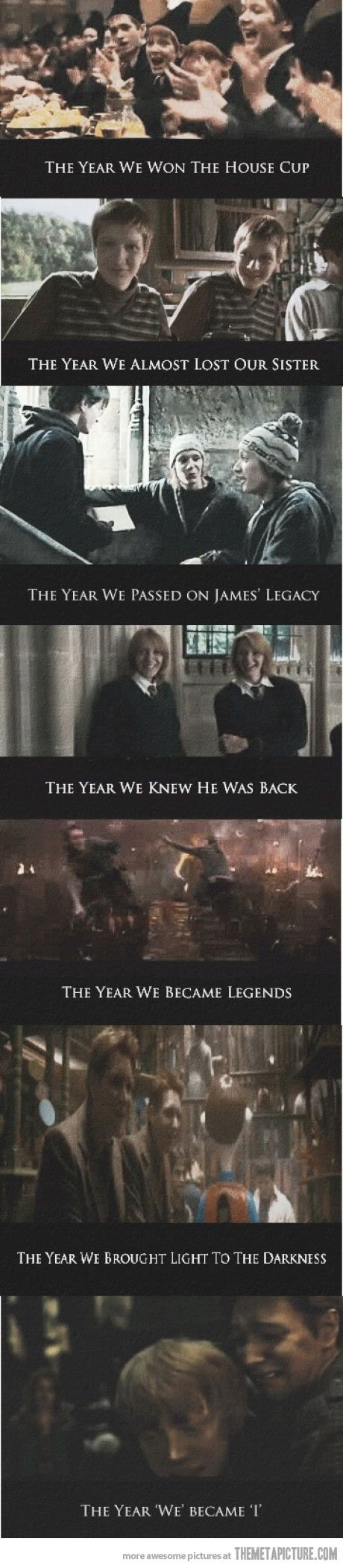 "I cried when Fred died. Or was it George?  ""Honestly woman, you call yourself a fan?""- George/Fred Weasley"
