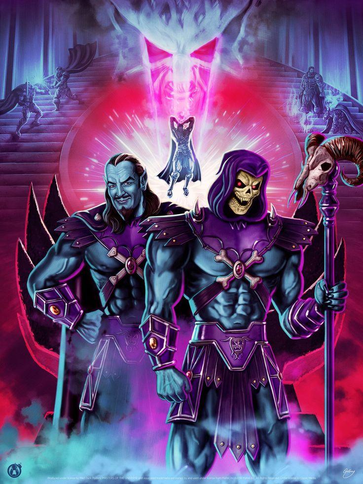 Épinglé sur Masters of The Universe Artwork