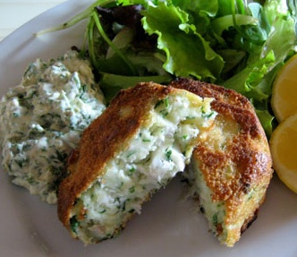 Spanish fish cakes croquettes ~ SPANISH TAPAS RECIPES