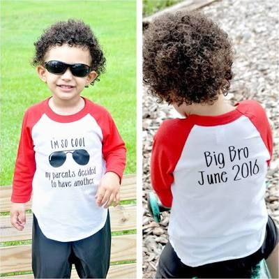 Promoted To Big Brother shirts ...