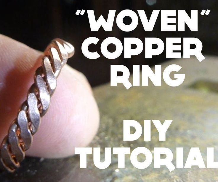 """Simple and quick copper ring with a texture that gives the illusion of a """"woven"""" ring. The materials can of course be changed to for example silver or gold instead. what you need (mainly):AnvilHammerScrewdriverFilesCuttersPliersMaterial for the ringYou might need a butane burner to reheat the material as well.The remaining shown in the picture is optional to for example close the ring and so on. :)"""